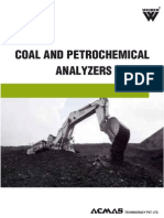 Coal and Petrochemical Analyzers Category