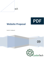 Website Proposal Information