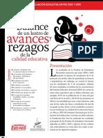 INEE-FEP_Balance de Avances y Rezagos en Calidad Educativa