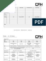 CFH Basics Program V2.00