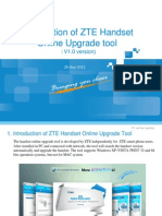 Introduction of ZTE Handset Online Upgrade Tool (V1.0 Version)