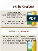 Doors & Gates BT Presentation