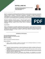 Cv Alberto Castellano 2013 Spanish Version