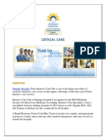 The best critical care hospital in Pune for cancer and cardiac problems