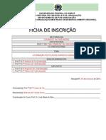 MODELO DE FICHA DE INSCRIÇÃO EM QUALIFICAÇÃO E DEFESA