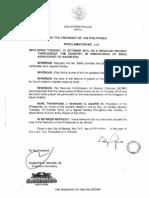 Proclamation 658