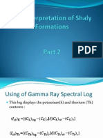 Log Interpretation of Shaly Formations Part 2
