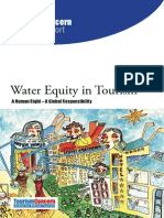 Water Equity in Tourism