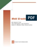 NDT - Weld Cracking
