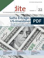 rendite - Satte Erträge mit US-Investments
