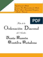 Rito de Ordenación Diaconal - blog