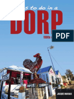 Things to do in a Dorp