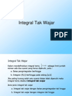 10 Integral Tak Wajar
