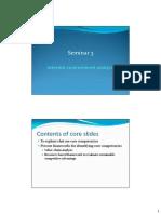 Seminar 3 - Internal Analysis