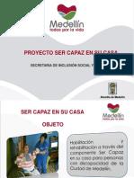 proyecto ser capaz en su casa  presentacin aps 2013-2