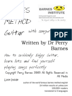 Barnes Method @ Guitar, Singing and Song Writing