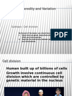 Cell Division science form 4