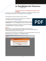 Anleitung Zur Installation Der Firmware DIR-615 RevH