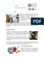 Opinión y Conclusiones Inmigrantes y nativos digitales Unidad 3
