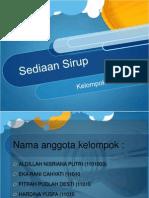 Sediaan Sirup.pptx