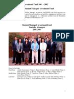 SMIF Annual Report 2001-2002