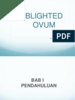 Blighted Ovum Ranggit