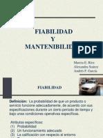 Fiabilidad y Mantenibilidad