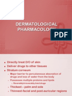Dermatological Pharmacology Lecture