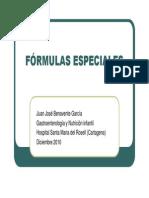 Formulas Especiales