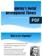 Lecture 11 May Vygotsky