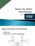 Disec3b1o Base de Datos Distribuidas