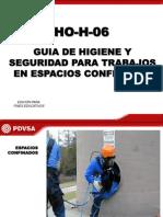 Guia de Trabajos en Espacios Confinados Pdvsa Ho-h-06