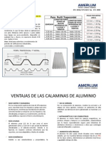 Ficha Tecnica Calamina Noral de Aluminio
