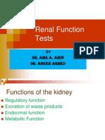 Abeer renal function testsAmr Renal Function Tests Renal Block