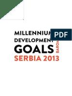 Millenium Development Goals Barometer - Serbia 2013