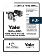 Manual Cable Yale