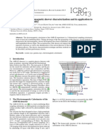 A 3-Dimensional Electromagnetic Shower Characterization and Its Application To