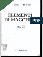 Niemann - Elementi Di Macchine Vol. III