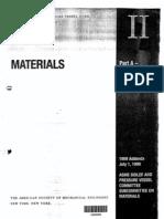 Material Base ASME II-Part a y B
