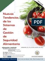Folleto Logo Antiguo Nuevas Tendencias Seguridad Alimentaria