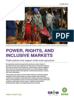 Oxfam - Power, Rights and Inclusive Markets