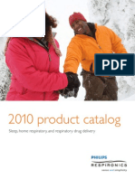 2010 Philips Respironics Catalog