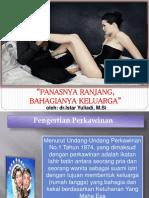 Sexuology Ilmu Kedokteran Jiwa FK UNS Panasnya Ranjang, Bahagianya Keluarga