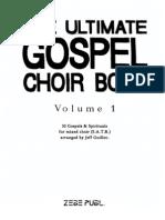 #the Ultimate Gospel Choir Book 1 (Satb)
