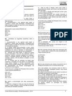 Prof. Paulo Marques - Exercícios - TJ RS 2013