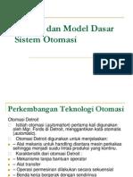 1 Konsep Dan Model Dasar Sistem Otomasi
