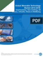 Global Wearable Technology Market 2013-2018