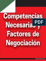 Comp Necesarias y Factores para la Negociación