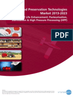 The Food Preservation Technologies 2013-2023