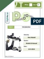 Prostho IV - Lec 1 - Complete Denture Steps